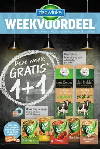 Dagwinkel reclame folder (geldig t/m 26-01)