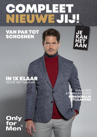 Only for Men reclame folder (geldig t/m 02-02)