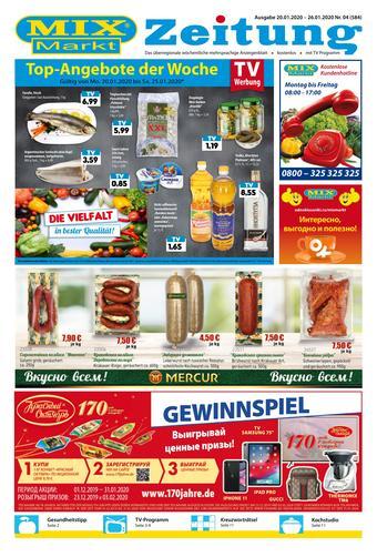 Mix Markt Prospekt (bis einschl. 26-01)
