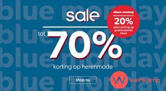 Wehkamp reclame folder (geldig t/m 20-01)