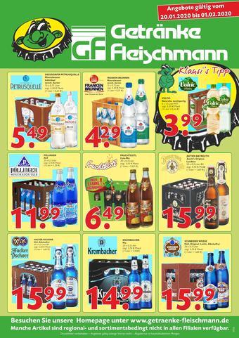 Getränke Fleischmann Prospekt (bis einschl. 01-02)