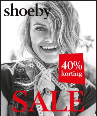 Shoeby reclame folder (geldig t/m 31-01)