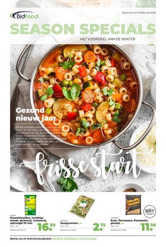 Bidfood reclame folder (geldig t/m 15-02)
