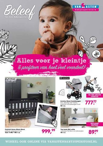 Van Asten BabySuperstore reclame folder (geldig t/m 02-02)