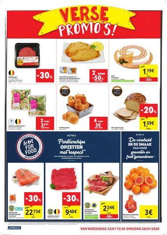 Carrefour Market reclame folder (geldig t/m 28-01)