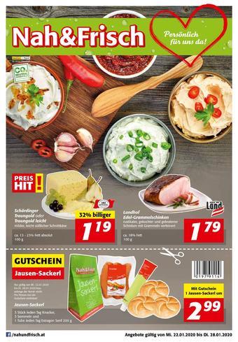Nah & Frisch Werbeflugblatt (bis einschl. 28-01)