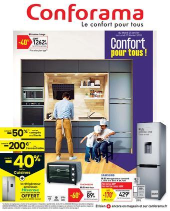 Conforama catalogue publicitaire (valable jusqu'au 17-02)