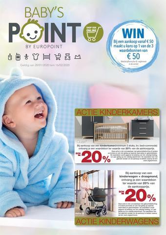 Europoint reclame folder (geldig t/m 16-02)