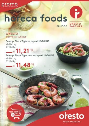 Horeca Foods reclame folder (geldig t/m 02-02)