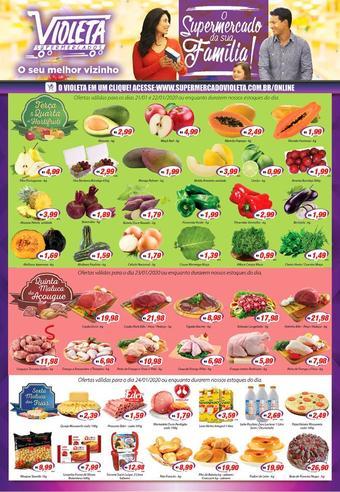 Violeta Supermercados catálogo promocional (válido de 10 até 17 24-01)