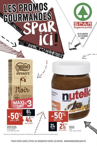 Spar catalogue publicitaire (valable jusqu'au 02-02)