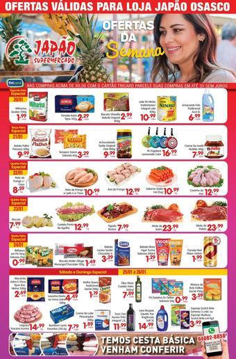 Supermercado Japão catálogo promocional (válido de 10 até 17 26-01)