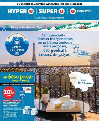 U Express catalogue publicitaire (valable jusqu'au 01-02)