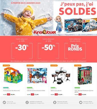 King Jouet catalogue publicitaire (valable jusqu'au 27-01)