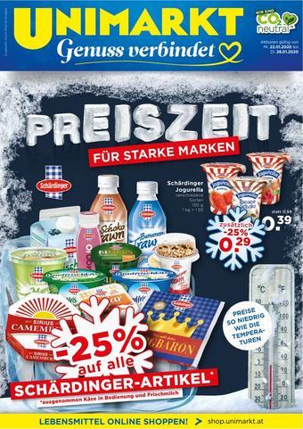 Unimarkt Werbeflugblatt (bis einschl. 28-01)