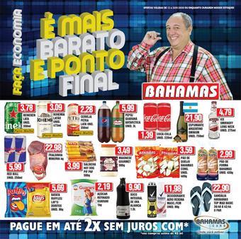 Bahamas Supermercados catálogo promocional (válido de 10 até 17 25-01)