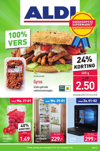 ALDI reclame folder (geldig t/m 02-02)