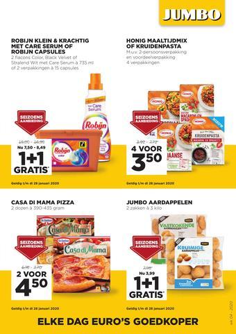 Jumbo Foodmarkt reclame folder (geldig t/m 28-01)