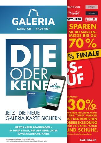 Galeria Kaufhof Prospekt (bis einschl. 28-01)
