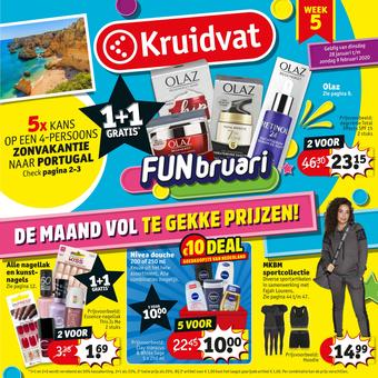 Kruidvat reclame folder (geldig t/m 09-02)