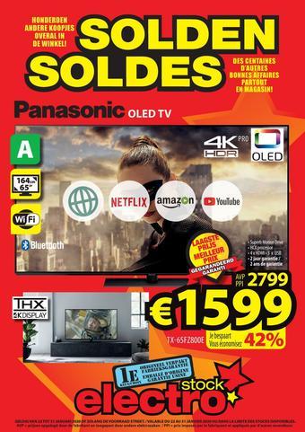 ElectroStock reclame folder (geldig t/m 29-01)