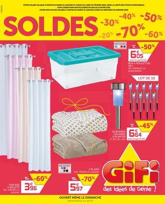 Gifi catalogue publicitaire (valable jusqu'au 03-02)