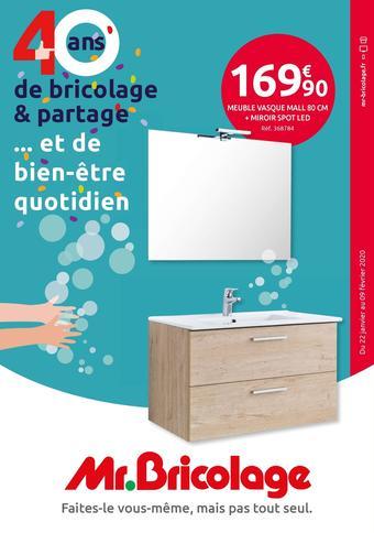 Mr Bricolage catalogue publicitaire (valable jusqu'au 09-02)