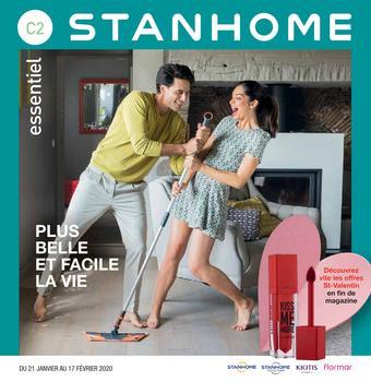Stanhome catalogue publicitaire (valable jusqu'au 17-02)