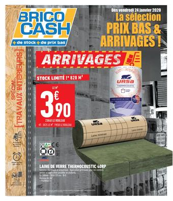 Brico Cash catalogue publicitaire (valable jusqu'au 06-02)