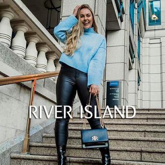 River Island reclame folder (geldig t/m 23-03)