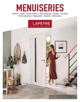 Lapeyre reclame folder (geldig t/m 31-03)