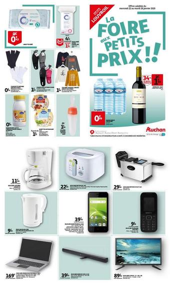 Auchan Direct catalogue publicitaire (valable jusqu'au 29-01)