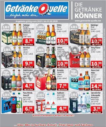 Getränke Quelle Prospekt (bis einschl. 01-02)