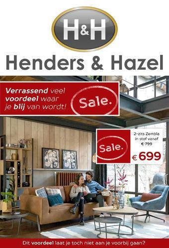 Henders & Hazel reclame folder (geldig t/m 26-02)
