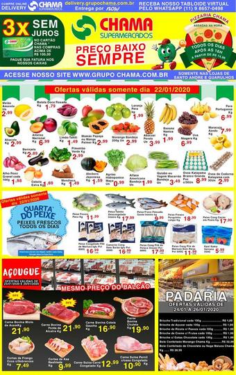 Chama Supermercados catálogo promocional (válido de 10 até 17 28-01)