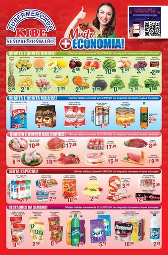 Supermercado Kibe catálogo promocional (válido de 10 até 17 28-01)