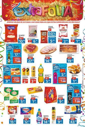Extra Supermercado catálogo promocional (válido de 10 até 17 29-01)