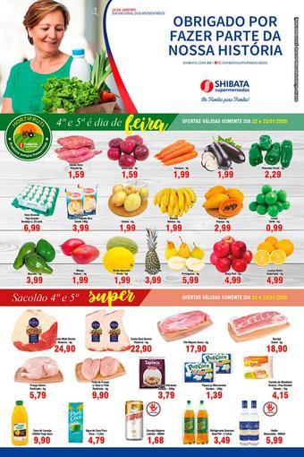 Shibata Supermercados catálogo promocional (válido de 10 até 17 28-01)