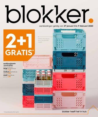 Blokker reclame folder (geldig t/m 09-02)