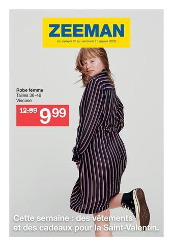 Zeeman catalogue publicitaire (valable jusqu'au 31-01)