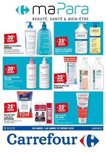 Carrefour catalogue publicitaire (valable jusqu'au 29-02)
