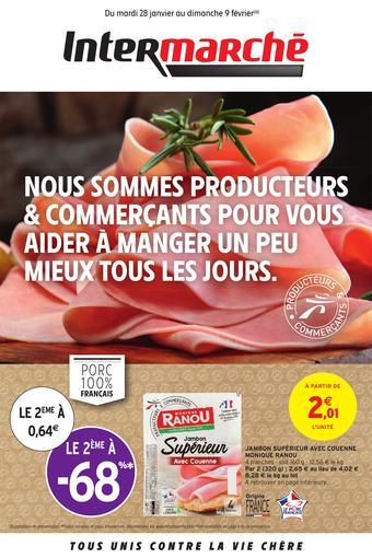 Intermarché Express catalogue publicitaire (valable jusqu'au 09-02)