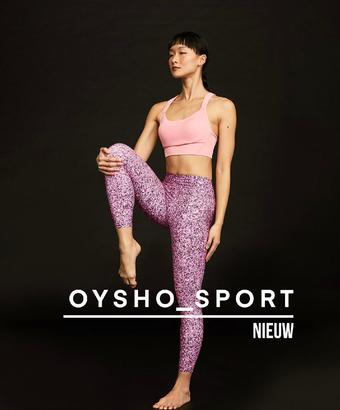 Oysho reclame folder (geldig t/m 23-03)
