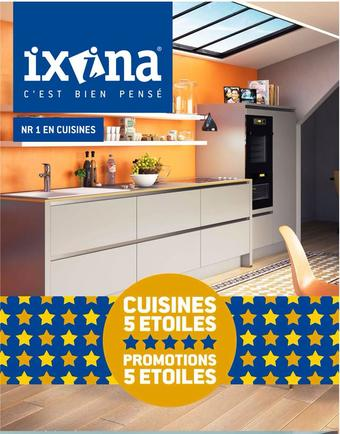 IXINA reclame folder (geldig t/m 31-01)