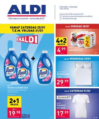 ALDI reclame folder (geldig t/m 01-02)