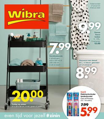 Wibra reclame folder (geldig t/m 08-02)