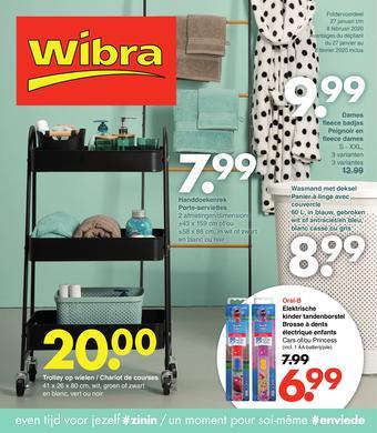 Wibra catalogue publicitaire (valable jusqu'au 08-02)