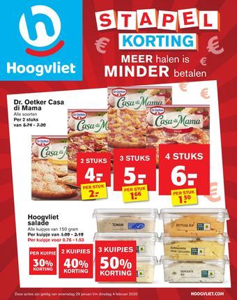 Hoogvliet reclame folder (geldig t/m 04-02)