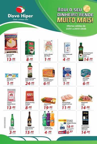 D'avó Supermercado catálogo promocional (válido de 10 até 17 29-01)