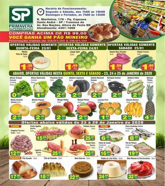 Primavera Supermercado catálogo promocional (válido de 10 até 17 28-01)